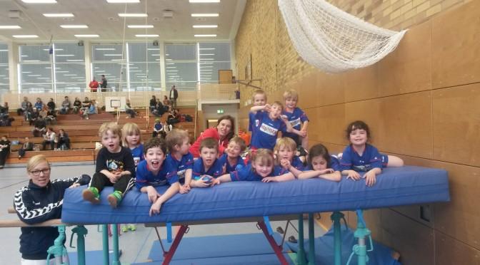 Handballspielfest der Tigerstaffel in der Sporthalle Bruchsal