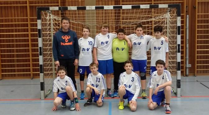 Auswärtssieg der D-Jugend gegen die SG HH-Gondelsheim 3