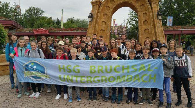 Jahresausflug der HSG Jugend